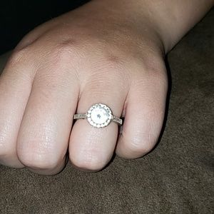 Size 8 engagement ring